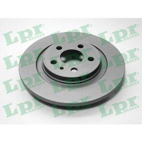 Bremsscheibe Bremsscheibendicke: 12mm, Felge: 5-loch, Ø: 272mm mit OEM-Nummer E169153