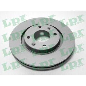 Bremsscheibe Bremsscheibendicke: 22mm, Felge: 4-loch, Ø: 266mm mit OEM-Nummer 45 41 000
