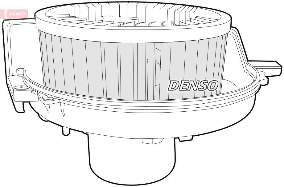 Heizgebläse DEA27001 DENSO DEA27001 in Original Qualität