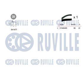 Touran 1T1, 1T2 1.4TSI Keilrippenriemensatz RUVILLE 5635380 (1.4TSI Benzin 2006 CAVC)