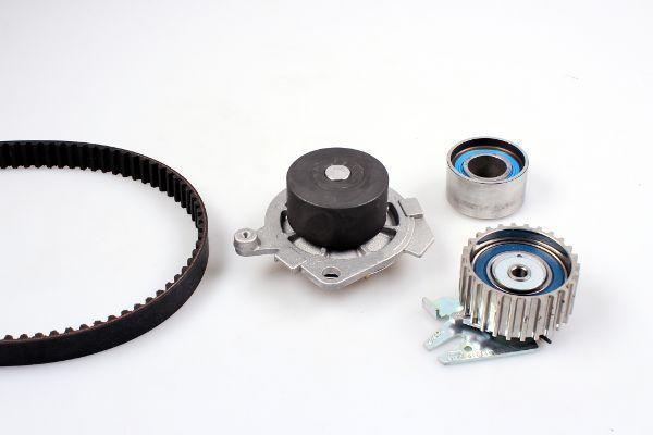 HEPU  PK10450 Wasserpumpe + Zahnriemensatz Breite: 24mm