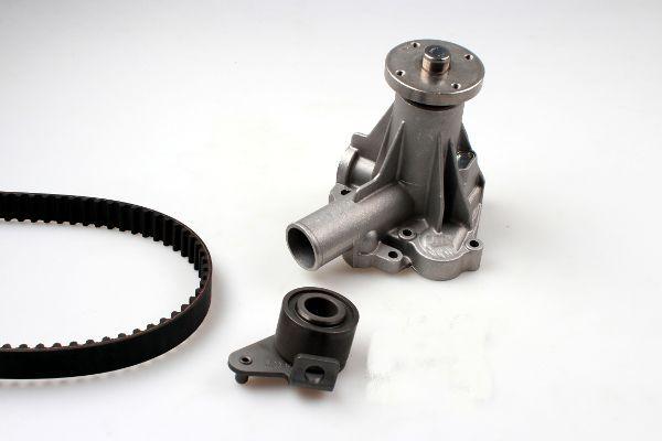 HEPU  PK00531 Wasserpumpe + Zahnriemensatz Breite: 19mm