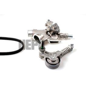 Water Pump + V-Ribbed Belt Kit with OEM Number 11 081 452