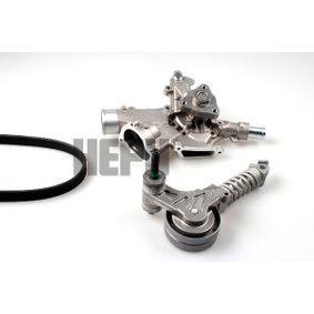 Water Pump + V-Ribbed Belt Kit with OEM Number 11081452