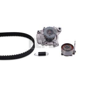 Honda Civic eu7 1.4iS (EP1) Wasserpumpe + Zahnriemensatz HEPU PK78120 (1.4 iS Benzin 2001 D14Z5)