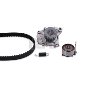 Honda Civic eu7 1.6i Wasserpumpe + Zahnriemensatz HEPU PK78121 (1.6 i Benzin 2004 D16W7)