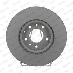 Bremsscheibe Bremsscheibendicke: 25mm, Lochanzahl: 5, Ø: 299mm mit OEM-Nummer G33Y 33 25X