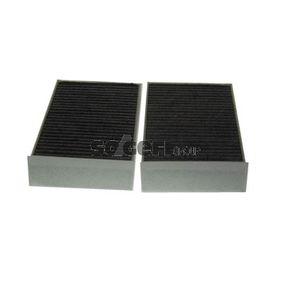 Filter, Innenraumluft Länge: 233mm, Breite: 115mm, Höhe: 32mm mit OEM-Nummer 64116823726
