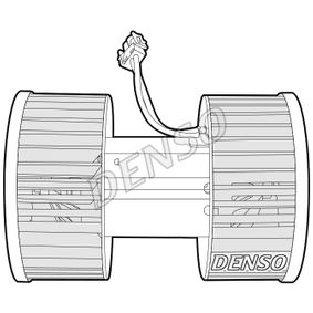 Innenraumgebläse Spannung: 12V mit OEM-Nummer 64118372797