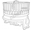OEM Innenraumgebläse DENSO 8335196 für MERCEDES-BENZ