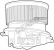 OEM Innenraumgebläse DENSO 8335203 für PEUGEOT