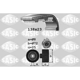 Zahnriemensatz für VW GOLF IV (1J1) 1.6 100 PS ab Baujahr 08.1997 SASIC Zahnriemensatz (1756060) für