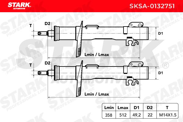 SKSA-0132751 STARK del fabricante hasta - 28% de descuento!