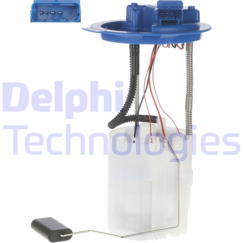 DELPHI  HDC141 Steuergerät, Glühzeit