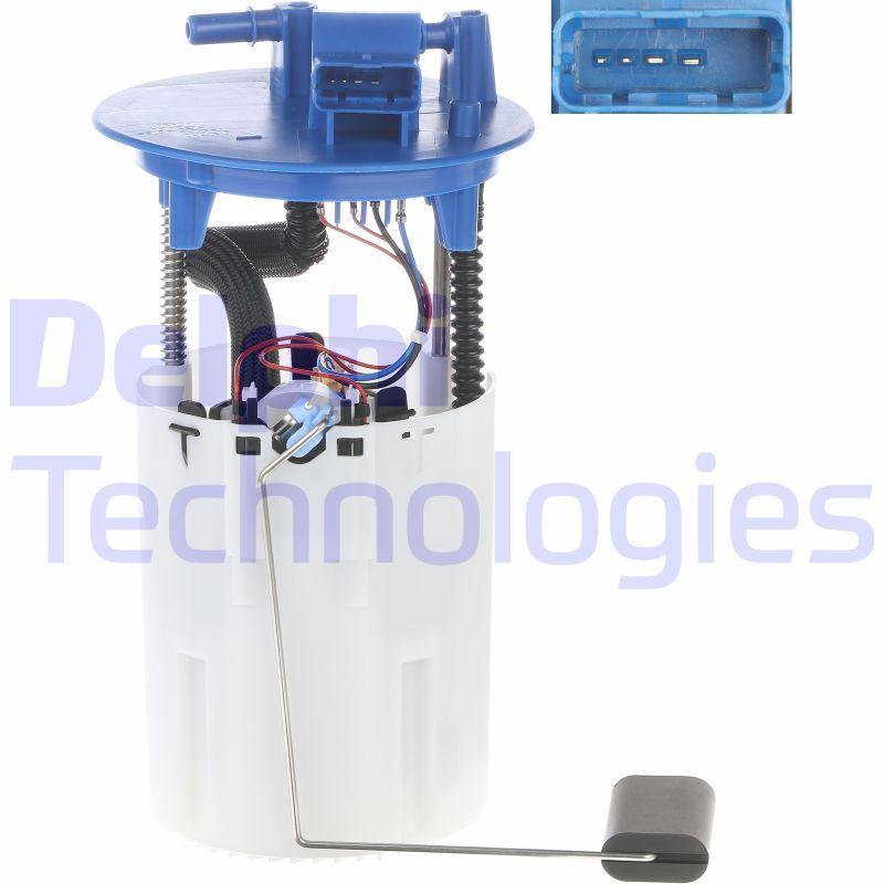 DELPHI  HDC125 Steuergerät, Glühzeit