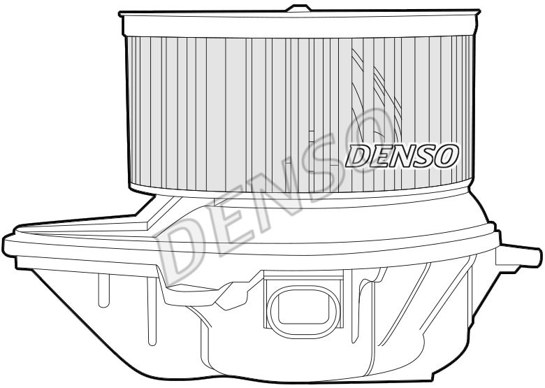 Heizgebläse DEA23007 DENSO DEA23007 in Original Qualität