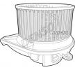 OEM Innenraumgebläse DENSO 8340808 für MERCEDES-BENZ