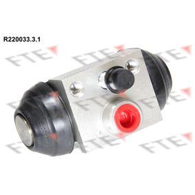 Wheel Brake Cylinder R220033.3.1 PUNTO (188) 1.2 16V 80 MY 2000