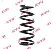 KYB Fahrwerksfeder RA5192 für FORD SCORPIO I (GAE, GGE) 2.9 i ab Baujahr 09.1986, 145 PS
