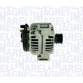Lichtmaschine Rippenanzahl: 6 mit OEM-Nummer 011-154-8402