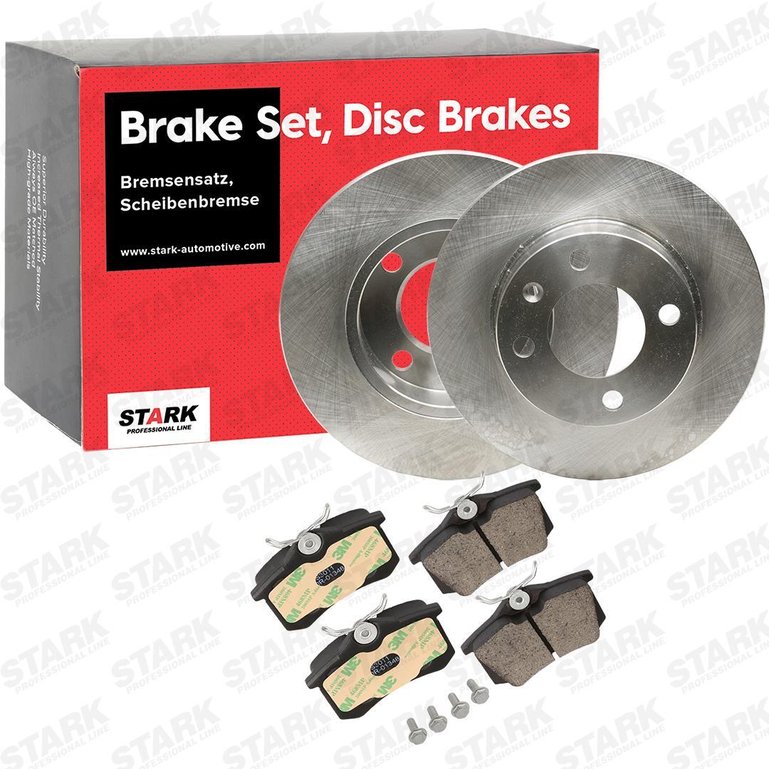 Jogo de travões, travões de disco STARK SKBK-1090335 conhecimento especializado