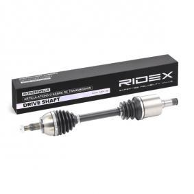 Drive Shaft Length: 607mm, Outer teething wheel side: 25 with OEM Number 1693705572