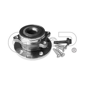 Wheel Bearing Kit Ø: 136,5mm with OEM Number 8J0 598 625