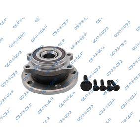 Kit de roulement de roue Ø: 136.5mm avec OEM numéro 5K0498621