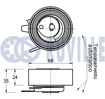 RUVILLE  928409 Rod / Strut, stabiliser Length: 341,00mm