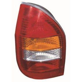 Opel Zafira f75 1.8 16V (F75) Heckleuchte ABAKUS 442-1923R-UE (1.8 16V (F75) Benzin 2000 X 18 XE1)