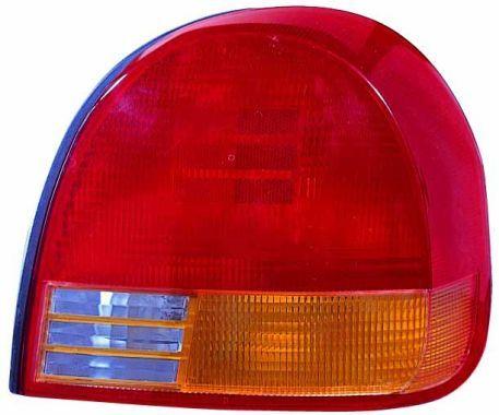 ABAKUS  221-1912R-UE Piloto posterior rojo