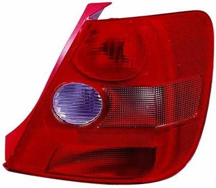 ABAKUS  217-1957R-LD-UE Combination Rearlight Red, for left-hand drive vehicles