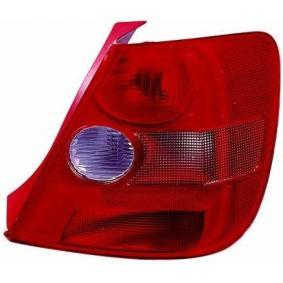 Combination Rearlight Red, for left-hand drive vehicles with OEM Number 33501S5SG01