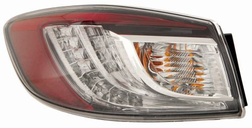 ABAKUS  216-1980R-UE Combination Rearlight White / Red