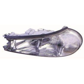 Hauptscheinwerfer für Fahrzeuge mit Leuchtweiteregelung (elektrisch), für Fahrzeuge ohne Leuchtweiteregelung, für Rechtsverkehr mit OEM-Nummer 1058420