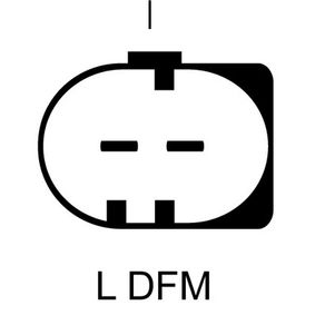 Lichtmaschine Rippenanzahl: 6 mit OEM-Nummer 06F-903-023AX
