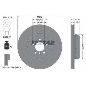Brake Disc Brake Disc Thickness: 30mm, Ø: 370mm with OEM Number 3410 6 797 606