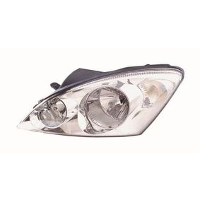 Hauptscheinwerfer für Fahrzeuge mit Leuchtweiteregelung, chrom mit OEM-Nummer 92102-1H000