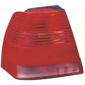 Heckleuchte glasklar, weiß/rot mit OEM-Nummer 1J5 945 096 AB
