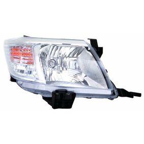 ABAKUS  212-11T2R-LD-EM Hauptscheinwerfer für Fahrzeuge mit Leuchtweiteregelung (elektrisch)