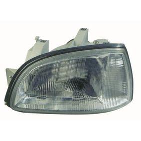 ABAKUS  551-1123L-LD-EM Hauptscheinwerfer für Fahrzeuge mit Leuchtweiteregelung (elektrisch), für Rechtsverkehr