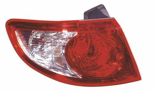 ABAKUS  221-1938L-AE Combination Rearlight Red