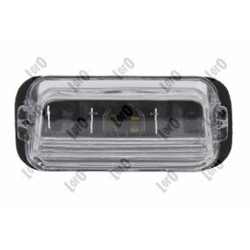Kentekenlamp 038-06-900 206 Hatchback (2A/C) 1.6 i bj 1998