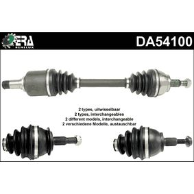 Drive Shaft Length: 610mm, Outer teething wheel side: 25 with OEM Number 169 370 5572