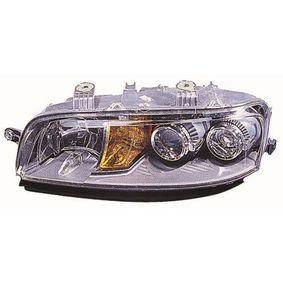 Headlight 661-1132L-LD-EM PUNTO (188) 1.2 16V 80 MY 2004