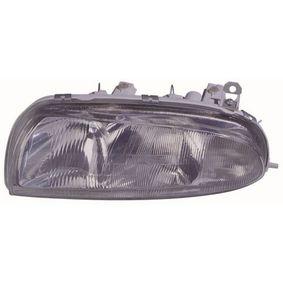 Hauptscheinwerfer für Fahrzeuge mit Leuchtweiteregelung (elektrisch), für Fahrzeuge ohne Leuchtweiteregelung (mechanisch), für Rechtsverkehr mit OEM-Nummer 1 042 631