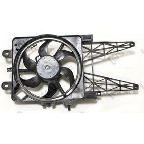 Fan, radiator 016-014-0004 PUNTO (188) 1.2 16V 80 MY 2002