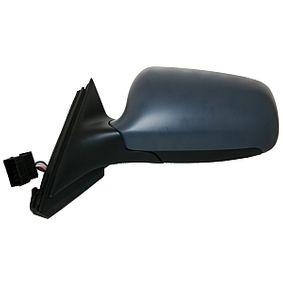 ABAKUS Side view mirror Right, Electric, Blue-tinted, Convex, Electronically foldable, Heated