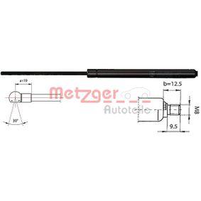 Heckklappendämpfer / Gasfeder Länge: 675mm, Hub: 263mm, Länge: 675mm mit OEM-Nummer 51248149328