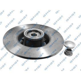 GSP Disco de travão 9225018K com códigos OEM 7701206328